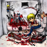 blood bath by Corpse-boy
