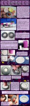 Polymer Clay Plate Tutorial by Talty