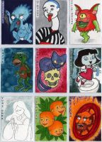 Yokai Cards set 2 by Cattype
