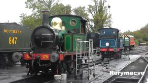 South Eastern and Chatham Railway 178 at Sheffield by The-Transport-Guild