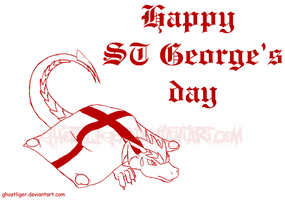 Impromptu St George's Day pic by GhostLiger