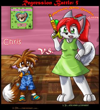 Regression Battle 5 by BabyChrisFox