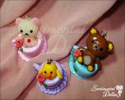 Rilakkuma Tea Party Set by SentimentalDolliez