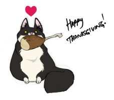 Happy Thanksgiving by Sandora