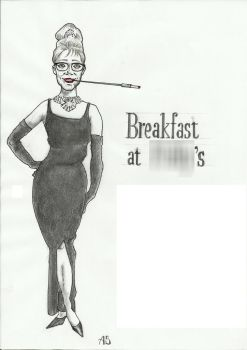 Breakfast At Tiffany's Revisited (finale a matita) by Grilliperlatesta