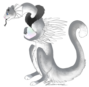 Another Dragon Cat (Pygmy Pearl Dragon) by PAlRO