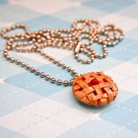 Miniature Food Cherry Pie by bobbin4apples