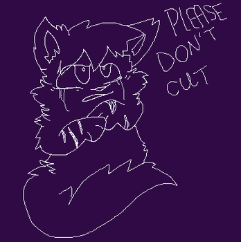 Please Don't Cut by AquaCupcakeLord