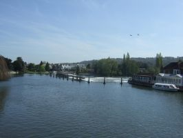 The river Thames at Marlow bucks by Sceptre63