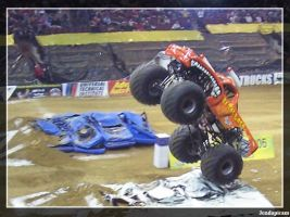 El Toro Loco Wheelie by jondapicam
