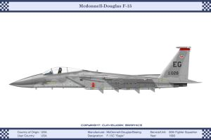 F-15C 60th Fighter Squadron by WS-Clave