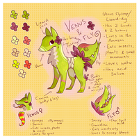 Venus and Fly Ref by Spazzing-Owl