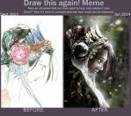 meme draw this again ! [the sad fairy] by spinoza1996