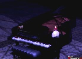 Piano by Candle light 6 by Shango-ThunderStones