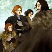 Game of Thrones - Bran I. by Hed-ush