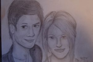 Harry Shum Jr and Dianna Agron by GleeAtack