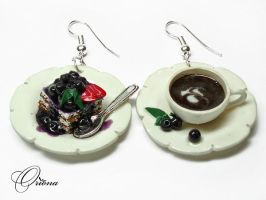 Blueberry dessert by OrionaJewelry
