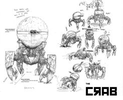 Concept : The Crab by SamannaGene-ocide