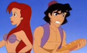 Ariel x Aladdin Seriously? by FantasticalWonder