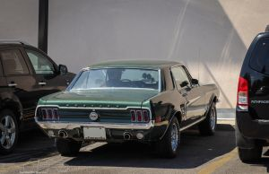 Wall Staring Stang by KyleAndTheClassics