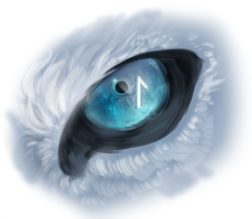 Rune Eye by Kipine