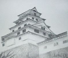 Karatsu-Jo Castle by Kataoi