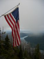 Flag off of Mount Rose. by pokemontrainerjay