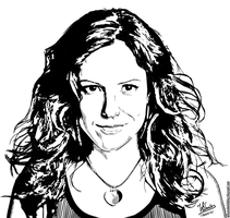 Mary-Louise Parker (Ink) by wilson-santos