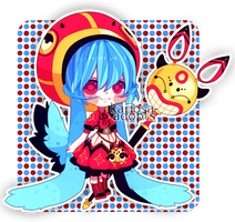Little Mage 24 hr Auction (Closed) by Kariosa-Adopts