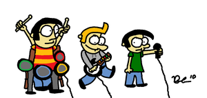 Parker Lot: Rock Band by austoon