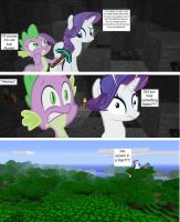 Minecraft Mash Up: Irritated Rarity by FuzzyyPanda