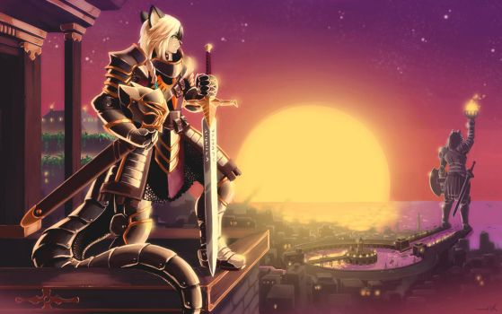 Guardian of the City by luigiix