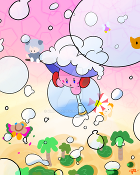 Bubbly Clouds by kirby456