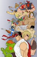 Super Street Fighter 2 by Fhiacha