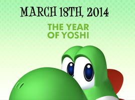 The Year Of Yoshi Wallpaper #1 by TheWolfBunny