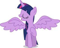 Mlp Fim Twilight Sparkle (...) vector by luckreza8