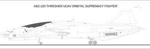 ASC-220 Thresher UCAV WIP 1 by Jon-Michael-May