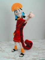 Pipe Cleaner Kuzco by fuzzymutt