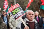 ICTU Protest Dublin XVIII by suolasPhotography