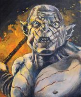 Azog- The Pale Orc by Shrptooth