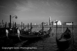 Gondolas in San Marco by GMCPhotographics