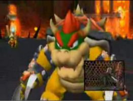MSC Bowser's winning pose by Bowser2Queen