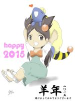 PKMN: Happy 2015!!! by Mikan-chan