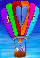 CE : Hot air balloon (LOST) by lifegiving
