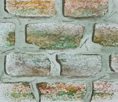 Brick texture technique by Fenfolio
