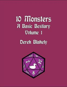 10 Monsters by cybervideo