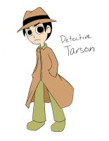 Commission: Detective Tarson by Loverofpiggies