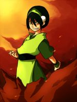 AVATAR Toph by pomdim