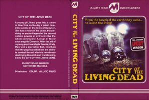 City of the Living Dead DVD Jacket by TerrysEatsnDawgs