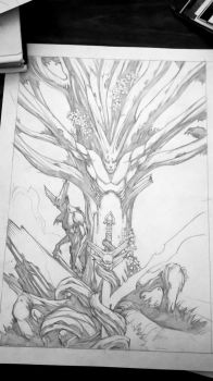 Tree of Souls - sneak peek by 9thRealm